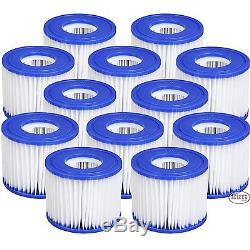 12 x Bestway New Style 2014/15 Filters Spas Lay z Spa Hot Tub Filter Lazy VI