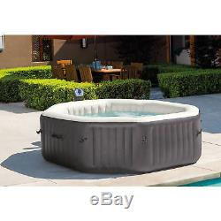 140 Bubble Jets 6 Person Inflatable Water Treatment Hot Tub Massage Spa Sauna