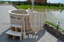 Ø 1.80m WOODEN HOT TUB WITH PLASTIC inner- 12 years producing experience