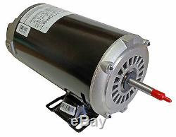 1 HP 3450/1725 RPM, 48Y Frame, 115Volt, 2-Speed Hot Tub / Spa Motor US Motors