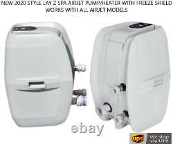 2021 Model Lay Z Spa Airjet Pump / Heater With Freeze Shield Technology NEW Lazy