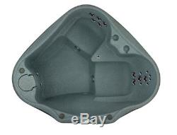 2 PERSON HOT TUB 20 JETS OZONE WATERFALL UPGRADES INCLUDED- Ships Fall