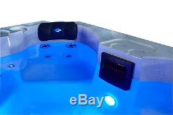 4 person Acrylic Hot Tub Plug & Play Led lights, Cover, and Aromatherapy