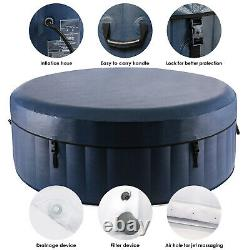 71'' Inflatable Hot Tub Portable Spa Jacuzzi with 120 Bubble Jets for 2-4 Person