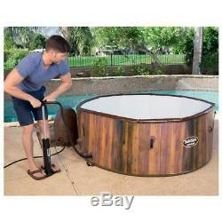 7-Person Portable Inflatable Spa Hot Tub Jacuzzi Massage Bubble Air Jet Outdoor