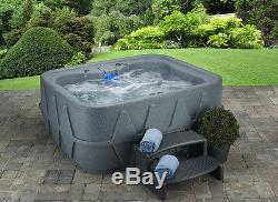 AquaRest Spa AR-400 Plug-N-Play 4 Person Spa with 14 Jets and Free Cover