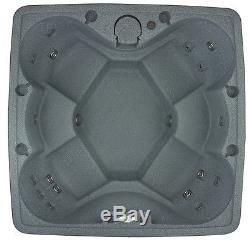 AquaRest Spa AR-600 Plug-N-Play 6 Person Spa with 19 Jets and Free Cover