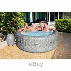 Bestway 54295 SaluSpa AirJet 6 Person Honolulu Inflatable Portable Hot Tub Spa