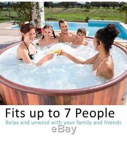 Bestway Helsinki Lay-Z-Spa 54189 AirJet Inflatable 7 Person Hot Tub Brand New