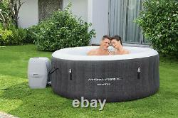 Bestway HydroForce 4-Person 120 Bubble Jets Havana Inflatable Round Hot Tub Spa