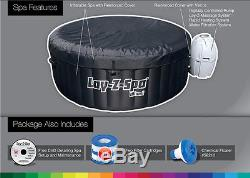 Bestway Lay-Z-Spa 71 x 26 Inch Inflatable Portable 4-Person Spa Hot Tub 54124