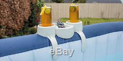 Bestway Lay-Z-Spa Drink Cup Snack Tray Holder Stand FREE P&P
