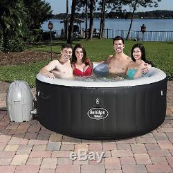 Bestway SaluSpa 71 x 26 Inch Inflatable Portable 4-Person Spa Hot Tub 54124