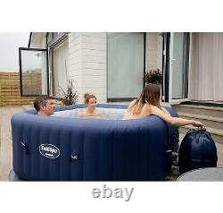 Bestway SaluSpa Hawaii AirJet 6-Person Inflatable Round Spa Hot Tub (Open Box)