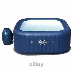 Bestway SaluSpa Hawaii AirJet 6-Person Inflatable Spa Hot Tub with Chemical Kit