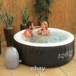 Bestway SaluSpa Miami Inflatable Hot Tub 4-Person AirJet Spa BRAND NEW