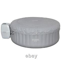 Bestway St. Lucia 67 x 26 Inch SaluSpa AirJet Inflatable Hot Tub with Jets, Gray