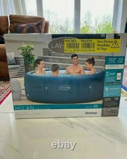 Bnib Lay-z-spa Milan Hot Tub Fast Dispatch And Delivery