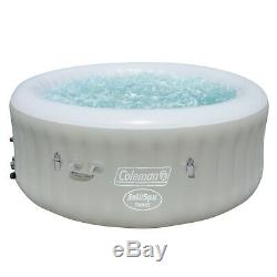 Brand New- Coleman Saluspa Tahiti Airjet Inflatable Hot Tub Spa 4-Person Jacuzzi