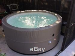 Canadian Spa Company Swift Current 6 Person Portable Spa Hot Tub
