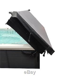 Canadian Spa Top Mount Cover Lifter System. Remove Your Hot Tub Cover With Ease