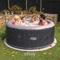 CleverSpa hot tub 4 PERSON INFLATABLE sauna pool garden outdoor Vegas, Cancun