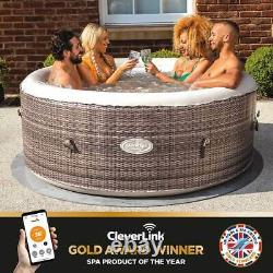 Cleverspa Maevea 4 Person Inflatable Hot Tub With Cleverlink App