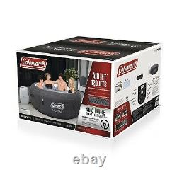 Coleman Cali AirJet SaluSpa Inflatable Hot Tub with EnergySense Liner 90437E