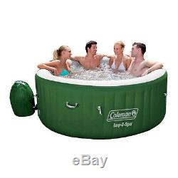 Coleman Hot Tub Spa Massage Pool Inflatable 6 Person Portable Outdoor Warm Water