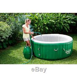 Coleman Lay Z Spa Inflatable Hot Tub Bubble Jacuzzi Set Portable 4-6 People New