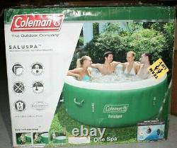 Coleman SaluSpa 4-6 Person Inflatable Jacuzzi Hot Tub 77 x 28 NEW