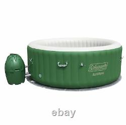 Coleman SaluSpa 6 Person Inflatable Jacuzzi & 6 Month Chemical Kit with Bromine