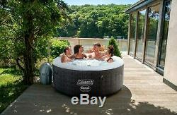 Coleman Saluspa 71 x 26 Havana AirJet Inflatable Hot Tub with Remote Control