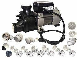 Conversion assembly kit BATHTUB to WHIRLPOOL JETTED TUB with Waterway Genesis pump