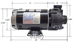 Hot Tub Pump 1.5 hp SPL Ultima, Ultra Jet 1.5 with Thermal Wrap Heat Jacket