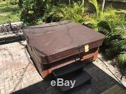 Hot tub spa jacuzzi 5 persons brand new pumpmoter just serviced