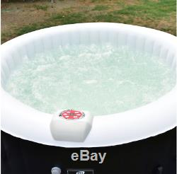 Inflatable Bubbling Jet Massage Spa Hot Tub Portable 4 Person Relaxing Outdoor