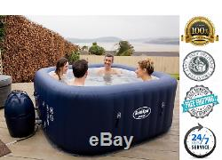 Inflatable Hot Tub AirJet Spa 6-Person Jacuzzi With Cover Portable Hawaii Pool