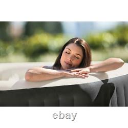 Intex 140 Bubble Jets 6-Person Octagonal Portable Inflatable Hot Tub Spa NEW