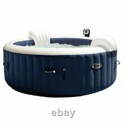 Intex 28405E 4 Person Round Hot & Slip Resistant Removable Hot Tub Seat