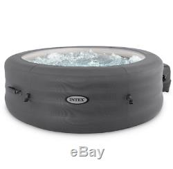 Intex Inflatable Hot Tub, Simple Spa 77 x 26 Bubble Jet Spa with Filter