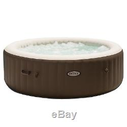 Intex Inflatable Pure Spa 6 Person Portable Bubble Jet Massage Heated Hot Tub