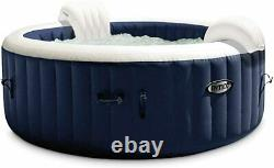 Intex PureSpa 85 Inch Bubble Jet Spa 6 Person Inflatable HOT TUB ONLY