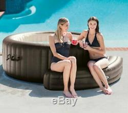 Intex PureSpa Hot Tub Accessories Package Headrest, Bench, Seat, and Cupholder