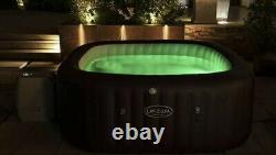 LAY Z SPA MALDIVES HYDROJET PRO HOT TUB 5-7 PERSONS LEDs, Fast & Free