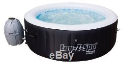 Lay-Z-Spa 54123-BNNX16AB02 Miami Hot Tub, Airjet Inflatable Spa, 2-4 Person