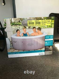 Lay-Z Spa Cancun 4 Person Hot Tub FREE FAST DELIVERY Lazy Spa BRAND NEW