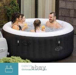 Lay-Z-Spa MIAMI 2-4 Person Hot Tub, 2021 Model NEXT WORKING DAY DELIVERY