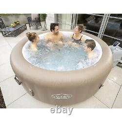 Lay-Z-Spa Palms Springs Airjet Relaxing 4-6 Person Luxury Hot Tub Jacuzzi Spa