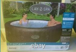 Lay Z Spa St Moritz Hot Tub 2021 Brand New In Box Fast Tracked Delivery